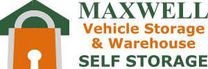 Logo - Maxwell Self Storage in Montgomery, AL