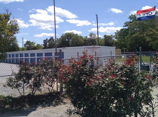 Car Storage in Montgomery, Alabama - mini storage entrance