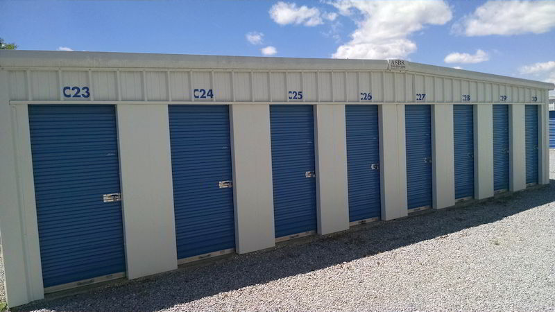 5 x 10 self storage units in Montgomery, Alabama