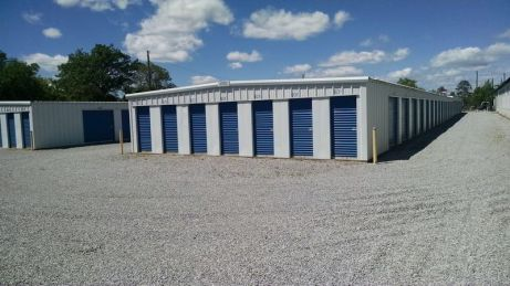 Mini Storage Units with overhead sliding doors - Montgomery, AL