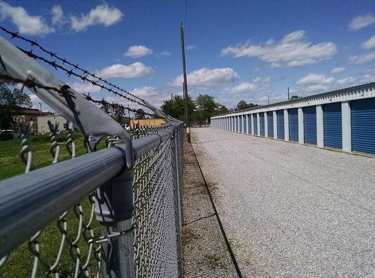 Storage near Maxwell AFB, Montgomery AL - secure self storage inside perimeter fencing